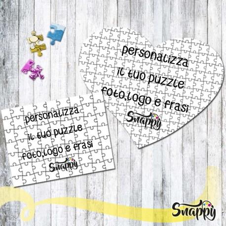 Personalizza il tuo puzzle con foto e/o frasi
