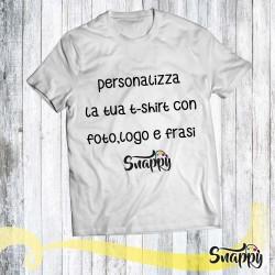 T shirt personalizzata con foto e/o frasi