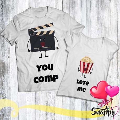 Coppia di t shirt FANTASY CINEMA