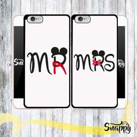Coppia di cover personalizzate MR & MRS BODY