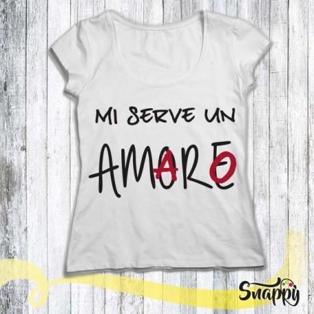 T shirt personalizzata GLAMOUR AMARO