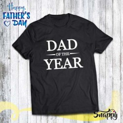 T shirt uomo personalizzata DAD OF THE YEAR