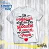T shirt uomo personalizzata SCIOGLIERE IL CUORE