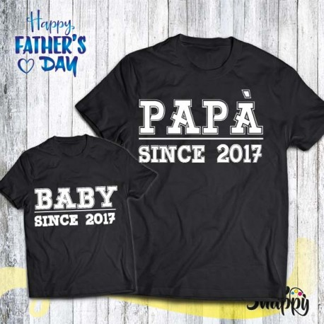T shirt Padre - Figlio/a SINCE