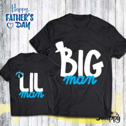 T shirt Padre - Figlio/a BIG/LITTLE