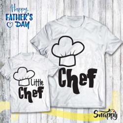 T shirt Padre - Figlio/a CHEF