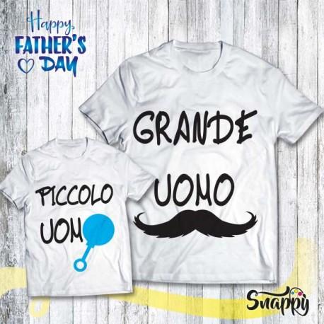 T shirt Padre - Figlio/a GRANDE/PICCOLO