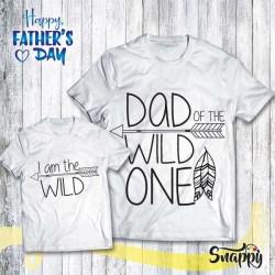 T shirt Padre - Figlio/a WILD