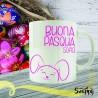 Tazza personalizzata con nome HAPPY CONIGLIO