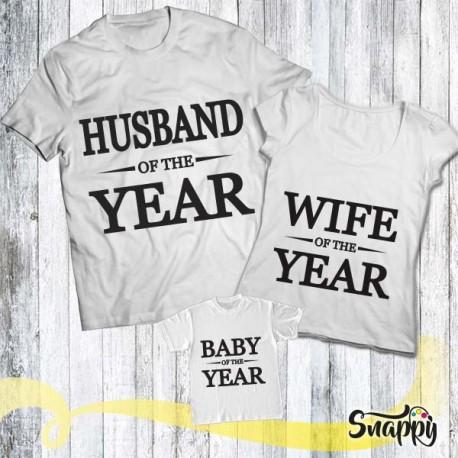 Set di t shirt HUS & WIFE