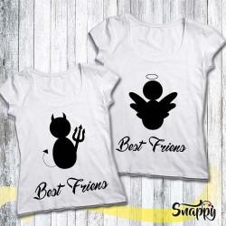 Coppie di t shirt personalizzate FRIEND