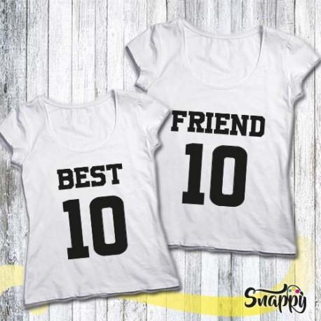 Coppie di t shirt personalizzate NUMBER