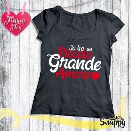 T shirt personalizzata PICCOLO AMORE