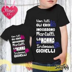 T shirt bambino personalizzata LA PIU' BELLA