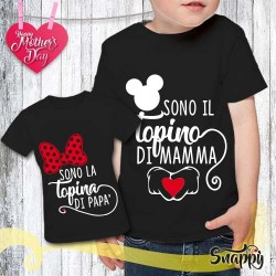 T shirt bambino personalizzata TOPINO