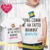 T shirt bambino personalizzata NO FILTER MAMMA'