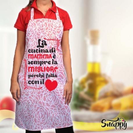 Grembiule da cucina full print CUCINA MIGLIORE