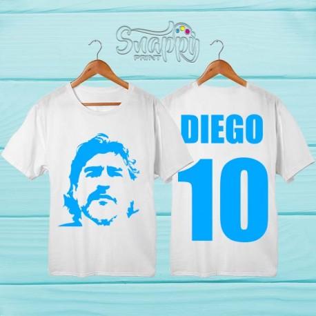 T shirt uomo personalizzata Napoli DIEGO