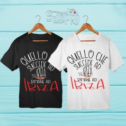 T shirt personalizzata Summer IBIZA