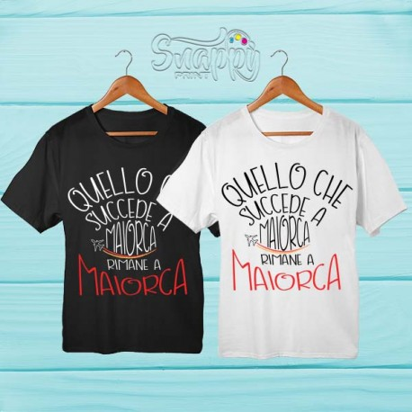 T shirt personalizzata Summer MALLORCA