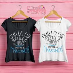 T shirt personalizzata Summer MYKONOS