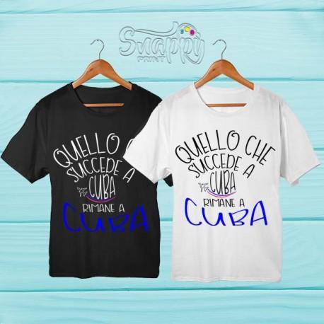 T shirt personalizzata Summer CUBA