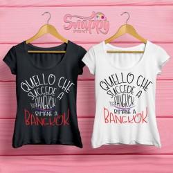 T shirt personalizzata Summer BANGKOK
