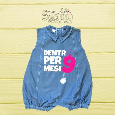Pagliaccetto di jeans 9 MESI