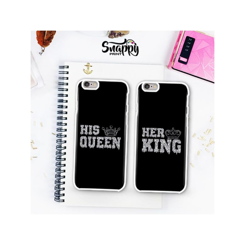 watch 92d17 8e5e4 Coppia di cover HER KING & HIS QUEEN