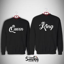 Coppia Felpe King&Queen ELEGANT