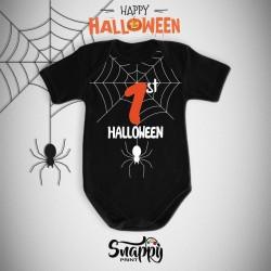 Body personalizzato Halloween Spider
