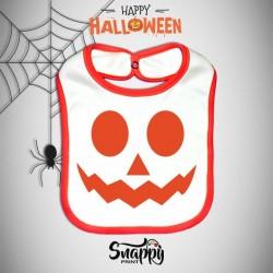 Bavaglino Personalizzato Halloween Pumpkin