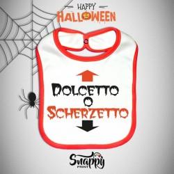 Bavaglino Personalizzato Halloween Dolcetto