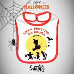 Bavaglino Personalizzato Halloween Paura