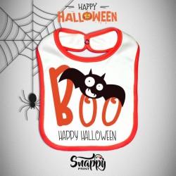 Bavaglino Personalizzato Halloween Boo