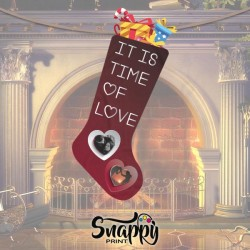 "Calza Epifania Befana Love Amore""TIME LOVE"""