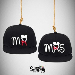 Coppia di cappelli Snapback TOPOLINS