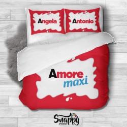 Copripiumino personalizzato Amore Maxi