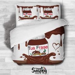 Copripiumino personalizzato Sweet Nutella