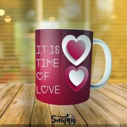 """Tazza linea PER LA TUA META' """"TIME LOVE"""""""