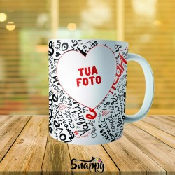 """Tazza linea PER LA TUA META' """"LOVE LOVE"""""""