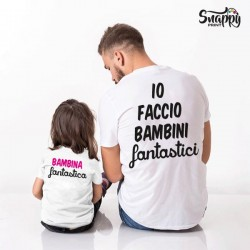 T-shirt Bimbi Fantastici