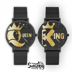 "OROLOGI DI COPPIA""KING & QUEEN"""
