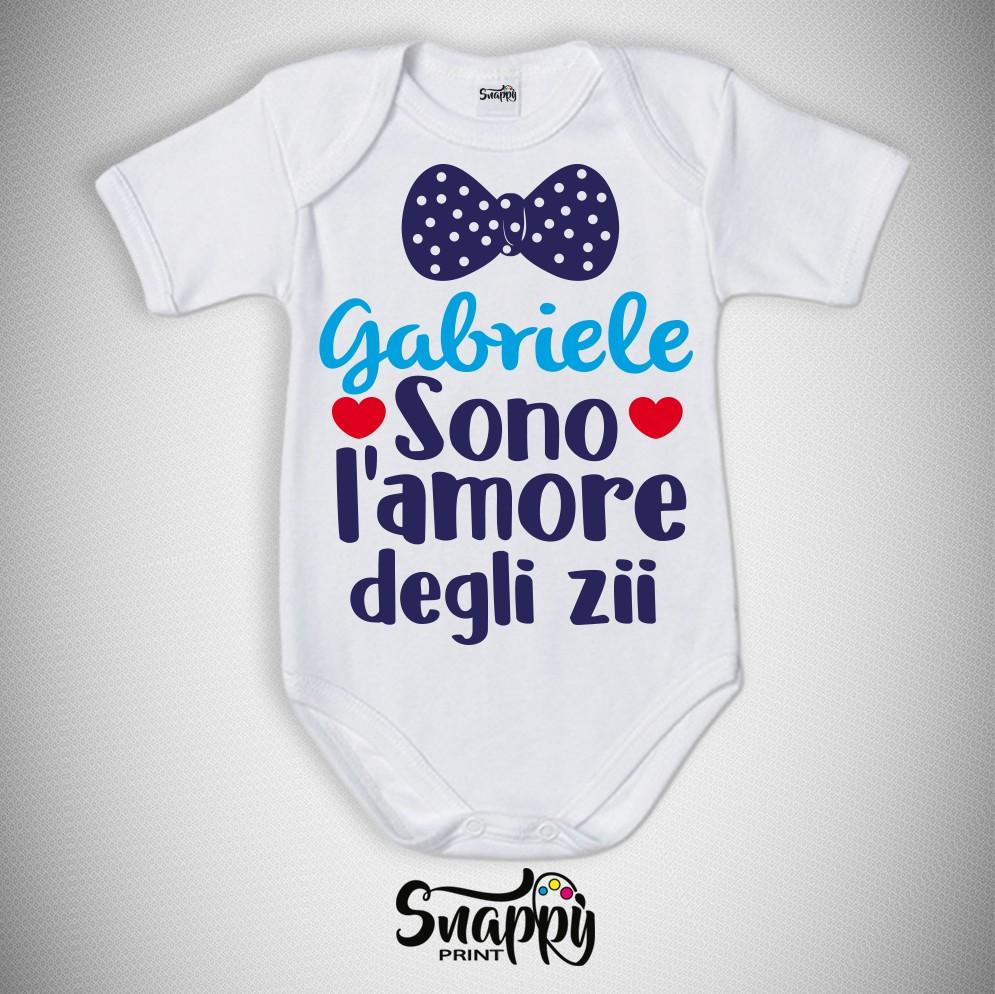 6b4d288442 Body personalizzato baby regali per genitori abbigliamento neonati