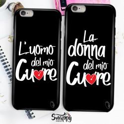 """Coppia cover case custodia cellulare smartphone personalizzate """"My Person"""""""