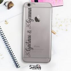 """Cover case custodia cellulare smartphone personalizzate con nomi """"CON NOMI"""""""