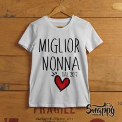 """T Shirt Uomo Idea Regalo Festa dei Nonni """"NONNI MIGLIORI"""""""