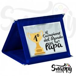 Targa riconoscimento festa del papà PRIMO PREMIO