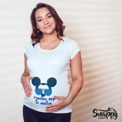 """T-shirt maglia idea regalo festa della mamma """"TOPINI"""""""
