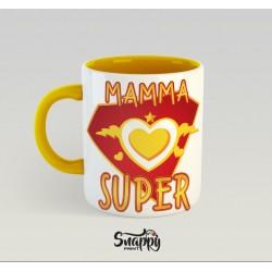 """Tazza personalizzata idea regalo festa della mamma """"SUPER"""""""